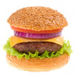 Cheeseburger isolated — Stock Photo #9195045