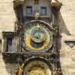 Stock Photo: Astronomical clock in Prague .