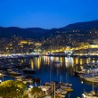 Monaco at night - Stock Photo