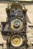 Astronomical clock in Prague . — Foto de Stock