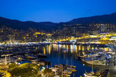 Monaco at night — Foto de Stock