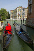 Gondola in Venice — Foto Stock