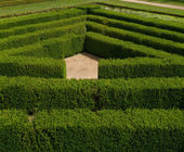 Ornamental maze — Stockfoto