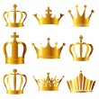 Icon of crown — Stock Vector