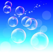 Background of bubble — Stock Vector