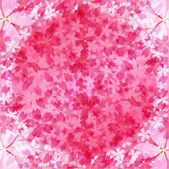 Background of cherry blossoms — Stock Vector