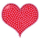 Valentine frame — Stock Vector