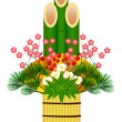Royalty-Free Stock Vector Image: Kadomatsu