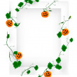 halloween frame — Stockvectorbeeld