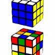 Rubik's Cube - Stock Vector