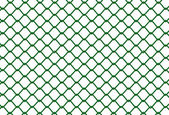 Green Fence — Stock Vector