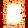 Royalty-Free Stock Vector Image: Autumn frame