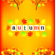 Autumn Frame — Stock Vector #8145985