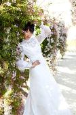 春には美しい花嫁 — ストック写真