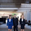 Group of Business walking outside — Stock Photo #10395264