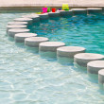 Childrens Swiming Pool — Stock Photo