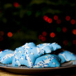 Hanukah Cookies — Stock Photo