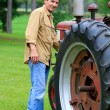 Organic Farmer — Stock Photo #8164221