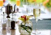 Champagne Brunch — Stock Photo