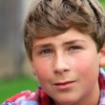 Portrait of a self assured Teen Boy — Stock Photo