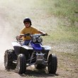 Stock Photo: Quad Runner Fun