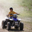 Quad Runner Fun — Stock Photo