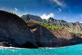 Kayak Napali Coastline — Stock Photo