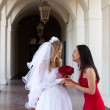 Bride and her Maid of Honor — Stock Photo #8767916