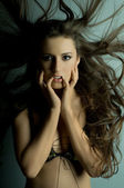Pretty woman — Stock Photo