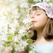 Beautiful little girl — Stock Photo