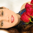 Women and roses — Stock Photo #8219599