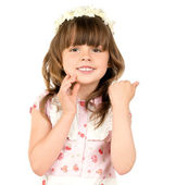 Little beautiful girl — Stock Photo