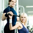 Sport couple — Stockfoto