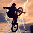 Bicyclist — Stockfoto #8220981