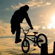 Bicyclist — Stockfoto #8220985