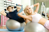 Sport couple — Stock Photo