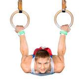 Gymnast — Stock Photo