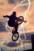 Bicyclist — Foto de Stock