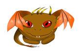 Cute Dragon monster — Stock Vector