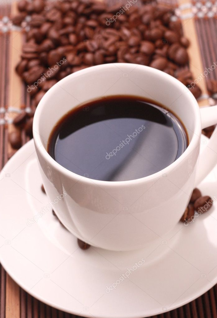 Morning cup of coffee — Stock Photo #10463249