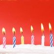 Birthday candles — Stock Photo #8026000