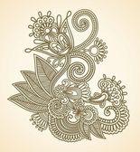 цветочный дизайн элемент — Cтоковый вектор