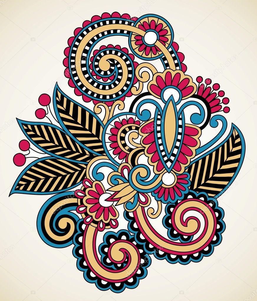 Орнаменты, узоры и схемы для вышивки Лана Митрозор Фотографии 68
