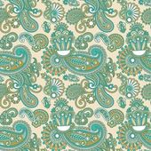 Vintage seamless pattern — Vector de stock