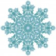 Ornate snowflake - Stock Vector