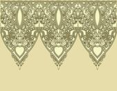 Ornamental seamless stripe — Stock Vector