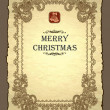Royalty-Free Stock Vektorgrafik: Royal christmas invitation