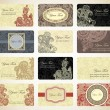 Royalty-Free Stock Vektorov obrzek: Business card collection