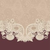 Ornate floral background — Vector de stock