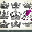 Unique ornamental heraldic crown — Stock Vector #8080382